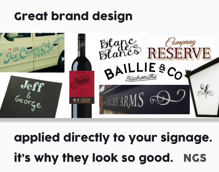 Great brand design NGS