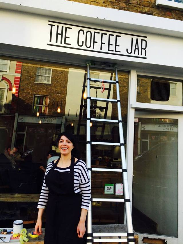 Maria at the Coffee Pot Camden