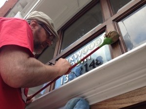 West End Vintage signwriting NGS