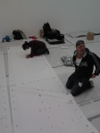 First job of many - layout marker port trims - Feb 2012 D Hirst 330