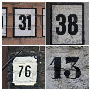 Bruges Numerals