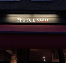 The Oak SW11 NGS Signwriting